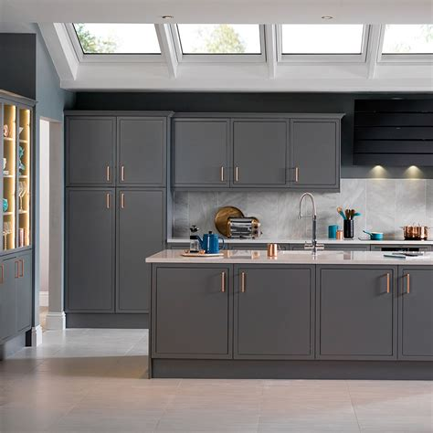 gray kitchen grey kitchens grey kitchen cabinets units magnet