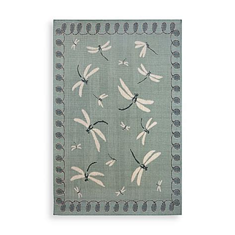 Dragonfly Indoor Outdoor Rug Trans Dragonfly Indoor Outdoor Rug Bed Bath Beyond