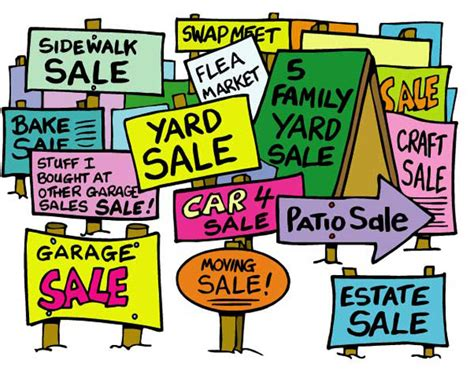 Advertise Garage Sale For Free by How To Advertise A Garage Sale Part 2