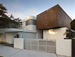 the secure home design contemporary home in sydney all bright and welcoming by
