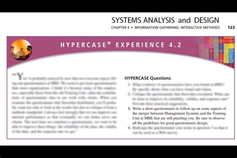 expert question design systems analysis and design chapter 4 information
