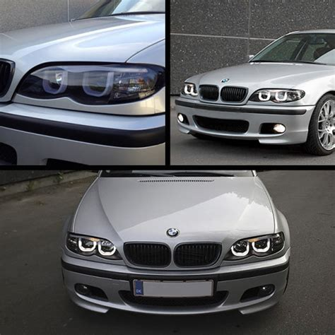 bmw e46 led lights 3d bmw e46 3 series front projector led headlights