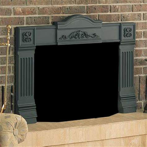 fireplace surrounds kits napoleon ef36 electric fireplace cast iron surround kit