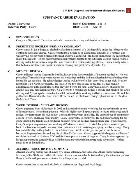 diagnosis form template exle sa assessment diagnosis