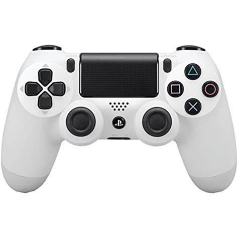 Stick Ps4 White Wireless Dualshock 4 dualshock 4 wireless controller for playstation 4 glacier white ebay