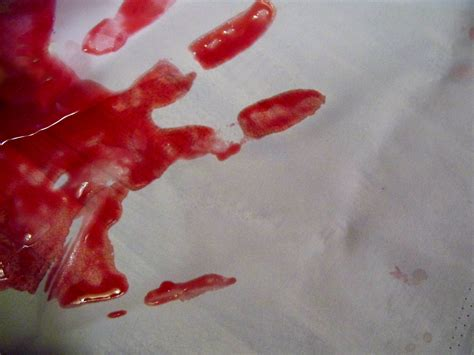 Blood Real In by Bloody Print Jo Naylor Flickr