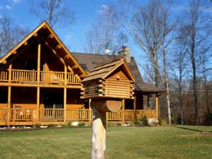 countryside homes connecticut countryside log home contemporary exterior new york by katahdin cedar log homes