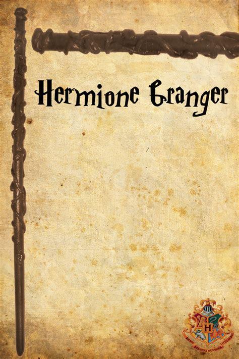 Déguisement Hermione Granger by Senhor Olivaras Varinha Da Hermione Granger
