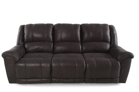 ashley reclining sofas ashley niarobi alloy reclining sofa mathis brothers