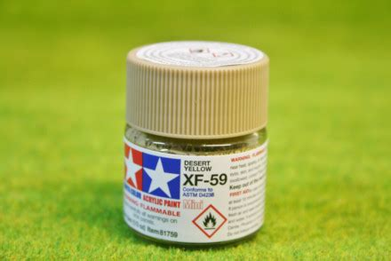 Murah Tamiya Enamel Xf59 tamiya color desert yellow acrylic mini paint xf59 10mls