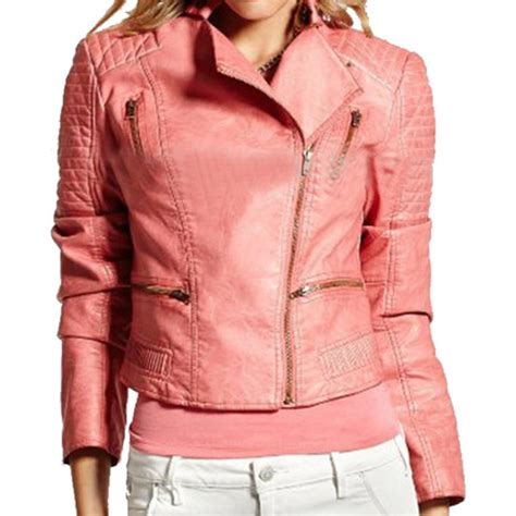New York Bikers Pink pink leather jackets for jackets review