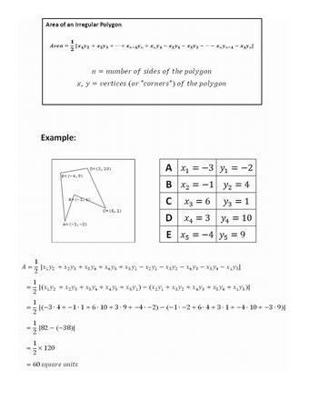 Worksheet 11 6 Apothem And Area Worksheet Answers