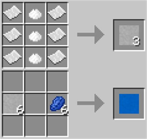 Crafting Recipe For Paper - mineralogy mod minecraft mods mapping and modding