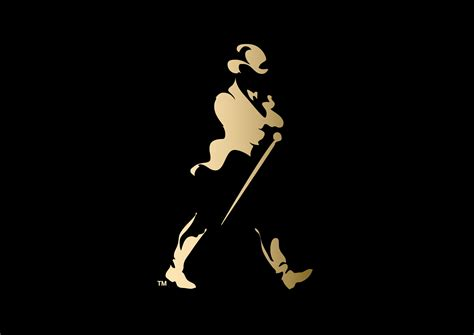 Kaos Johnnie Walker Logo johnnie walker striding logo wallpaper kai