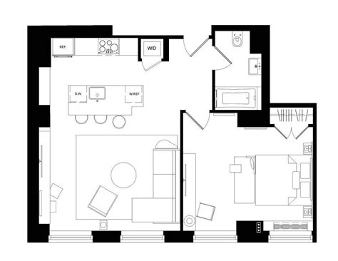 1 bedroom loft floor plans loft one bedroom the marmara park avenue