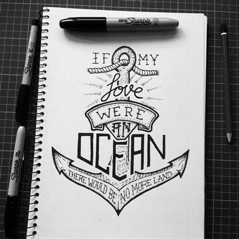 anchor tattoo quotes tumblr anchor drawings with quotes quotesgram