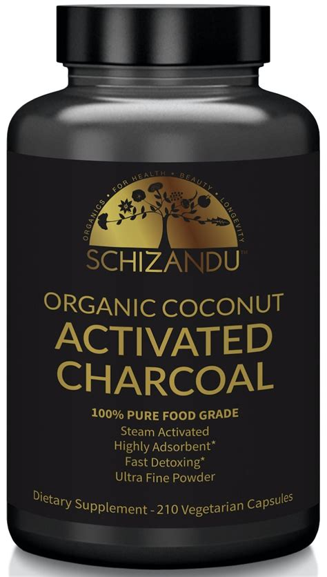 Activated Charcoal Detox by Activated Charcoal Powder Food Grade Detox