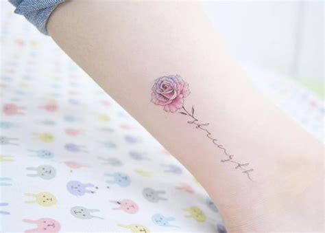 tattoos about strength 63 fabulous feminine design ideas