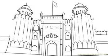 Draw Landscape Plan Online the lahore fort dot to dot printable worksheet connect