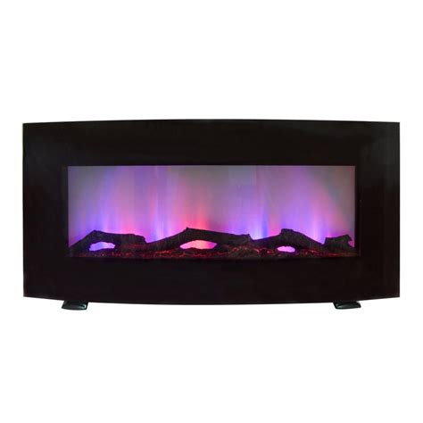 estate design lincoln 34 in curved front wall mount