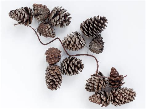 instructions for making pinecone garland for the holidays how tos diy