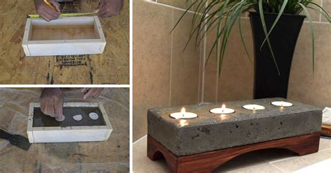arredi casa fai da te oggetti d arredo fai da te utilizzando il cemento 15