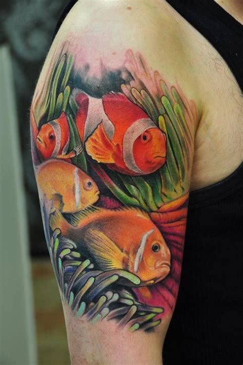 colored tattoos fish tattoos designs ideas and meaning tattoos for you