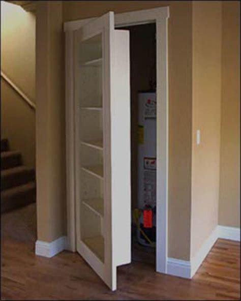 Hideaway Closet Doors Create Storage Intrigue With A Secret Door Secret