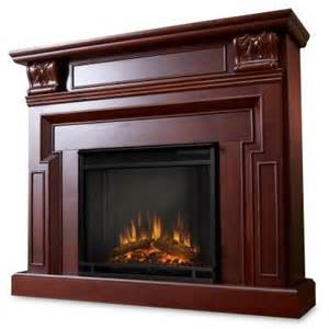 home depot fireplaces real kristine 46 in electric fireplace in mahogany