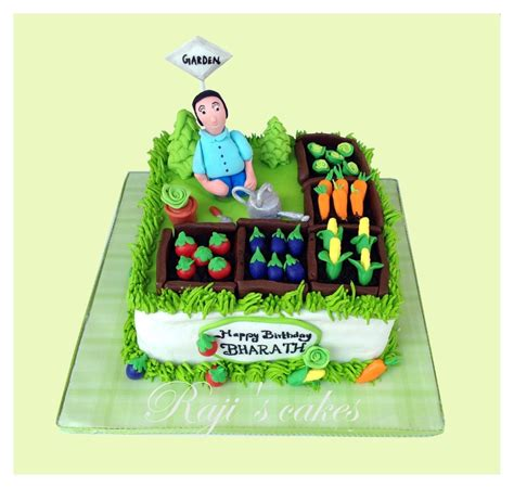 Vegetable Garden Cake Vegetable Garden Cake Cakecentral