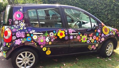 Auto Sticker Pusteblume by Flower Power Car Decal Stickers By Hippy Motors Vw Beetle