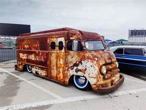 Grand Design Home Show London the rusty old bread truck that captured our attention