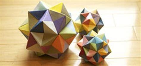 Modular Origami Octahedron - modular origami icosahedron octahedron cube 171 math