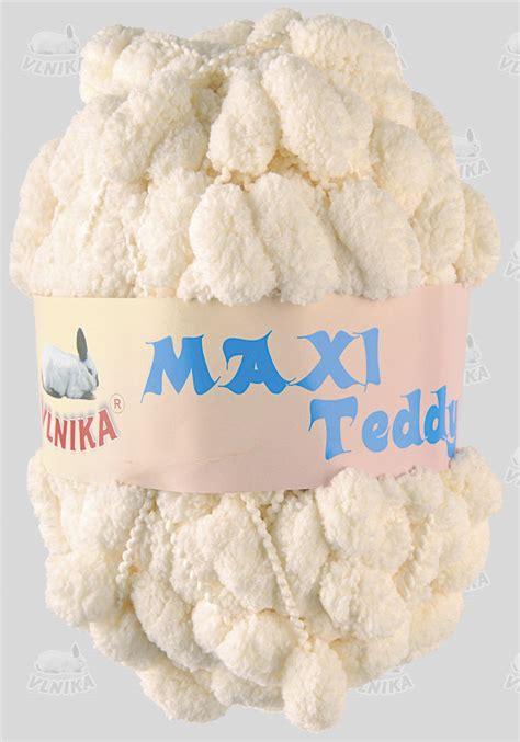Teddie Maxy bambuľkov 225 vlna maxi teddy 16