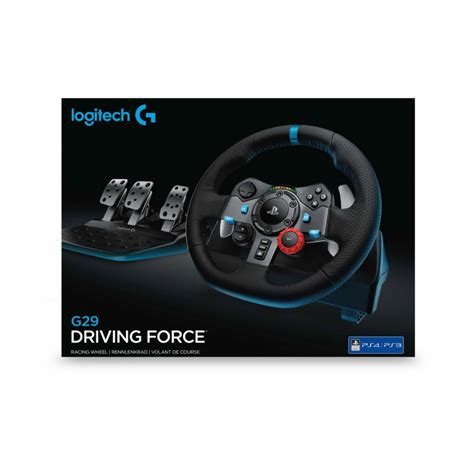 volante playstation 3 volante logitech g29 racing wheel ps4 ps3 pc chip7