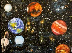 acrylic painting mystical moons planet earth planet planet universe artwork cosmic