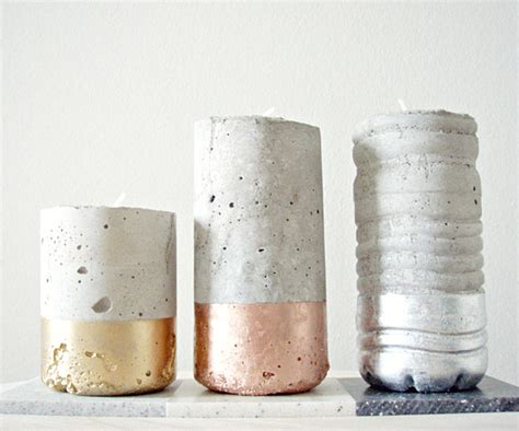 concrete diy metallic decor that adds subtle sparkle to your interior