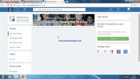edmodo how to find group code how to find out group code in edmodo youtube