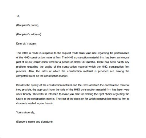 Business Reference Letter Template Free Business Reference Letter 11 Free Documents In