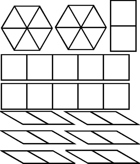 pattern block triangle grid pattern block triangles images