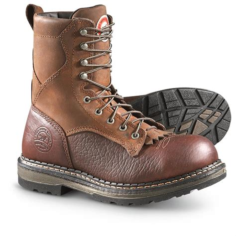 setter s boots s setter 8 quot soft toe eh work boots brown