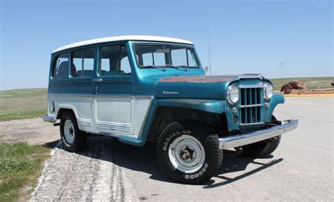 jeep station wagon super hurricane power 1962 willys jeep station wagon