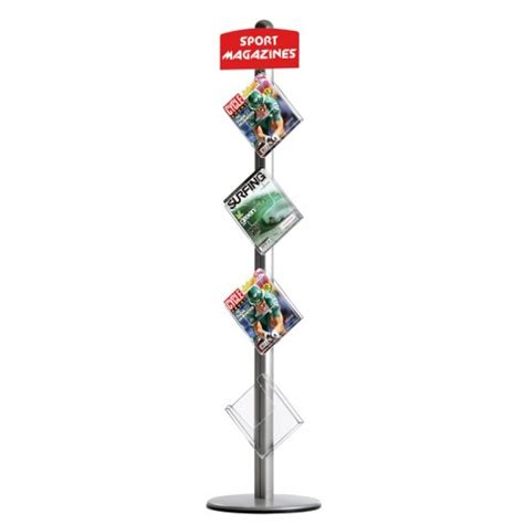 Free Standing Leaflet Dispenser   Literature Holder Stand