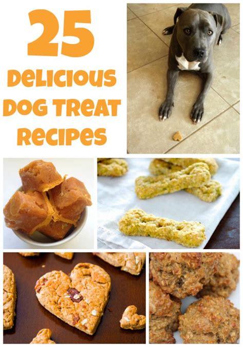 puppy treat recipes 25 delicious treat recipes