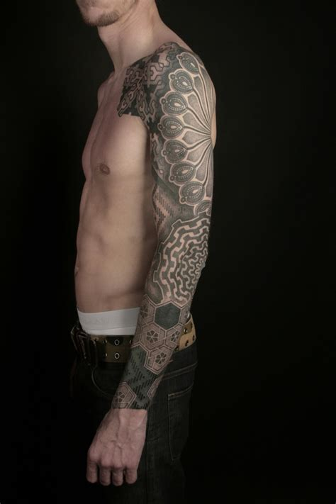 1 4 sleeve tattoo 36 best tribal celtic geometric etc images on