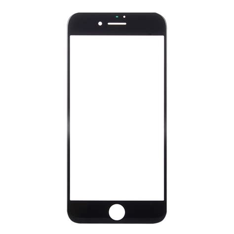replacement for iphone 8 plus front screen outer glass lens black alexnld