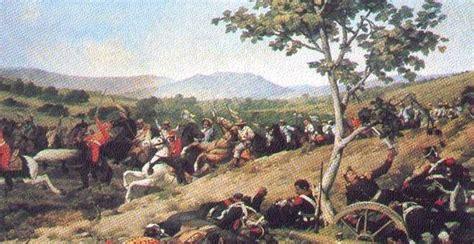 dibujo de la batalla de carabobo 1814 history