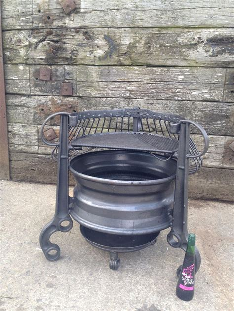 How To Make A Table Fire Pit - old tractor rims fire pit fire pit design ideas