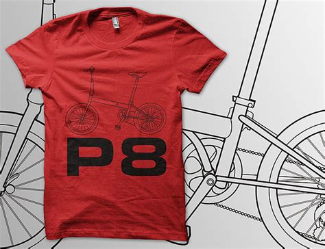 Kaos Bromptonb urbn speed p8 t shirt