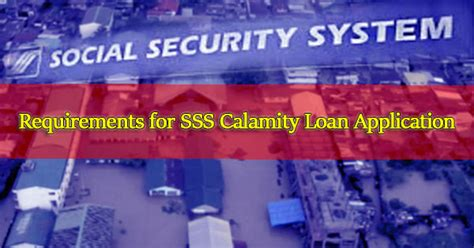 sss housing loan ofw requirements requirements for sss calamity loan application ph juander